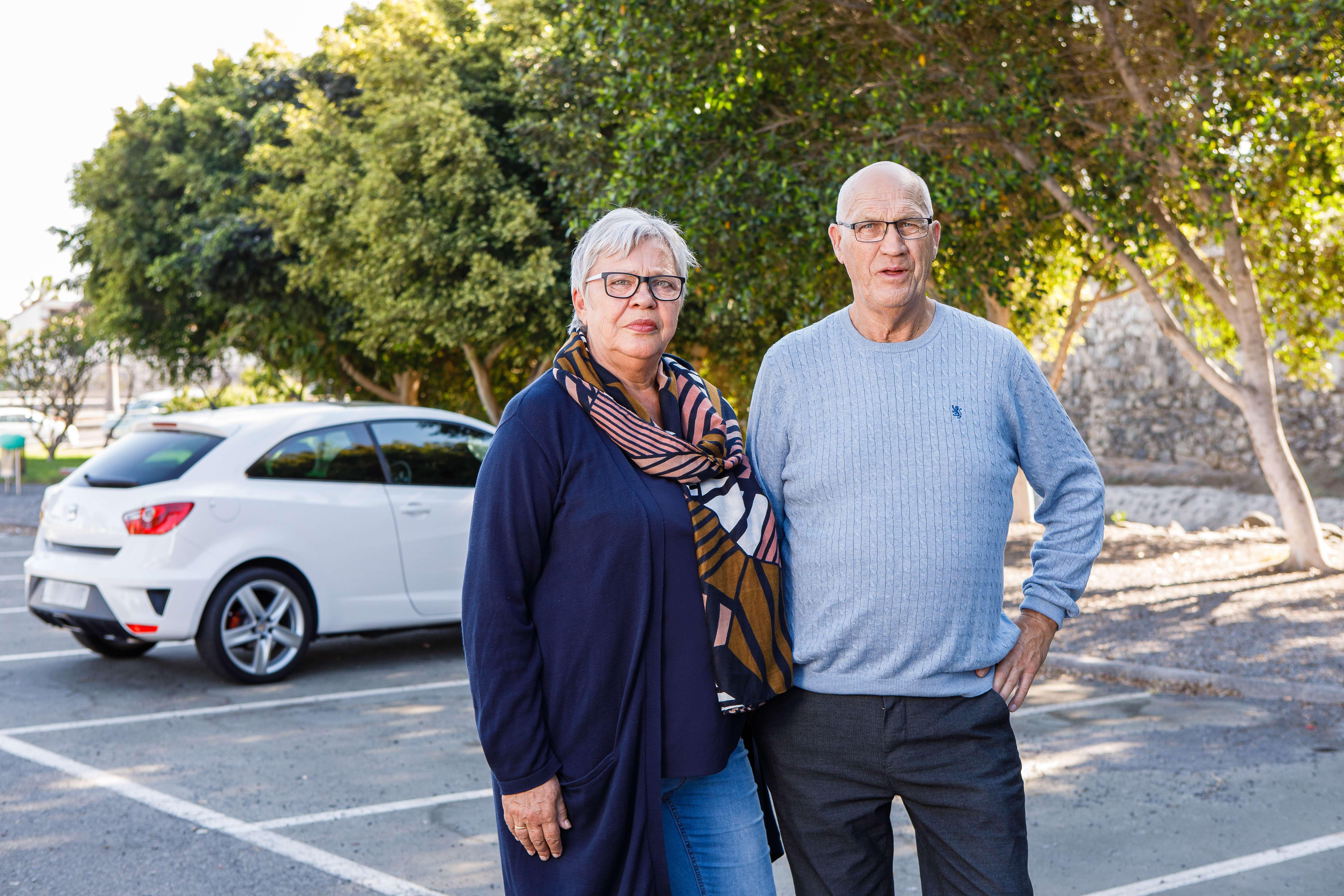 Kirsti og Svein var veldig fornøyde med Frende etter bilulykken
