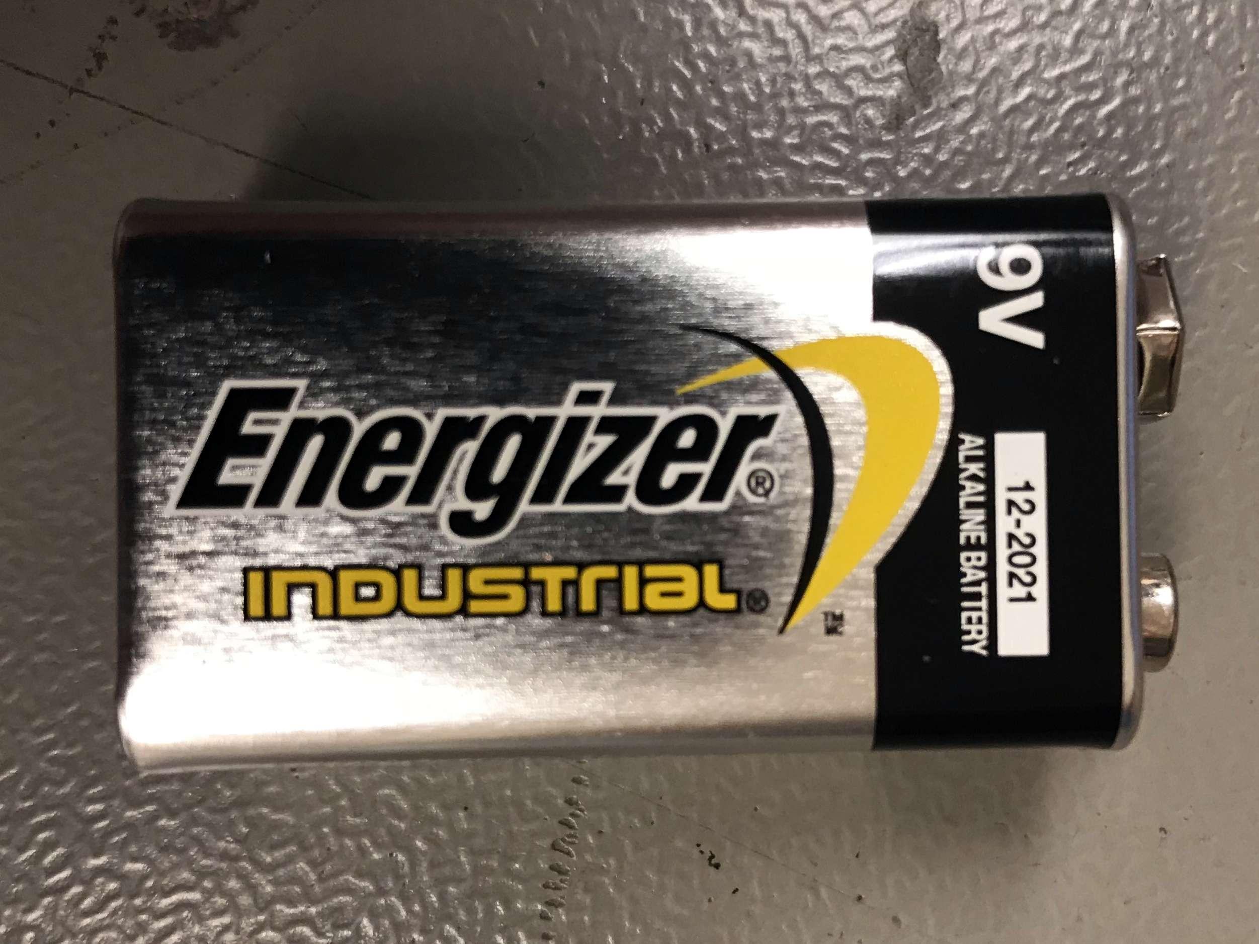 Røykvarslerbatteri