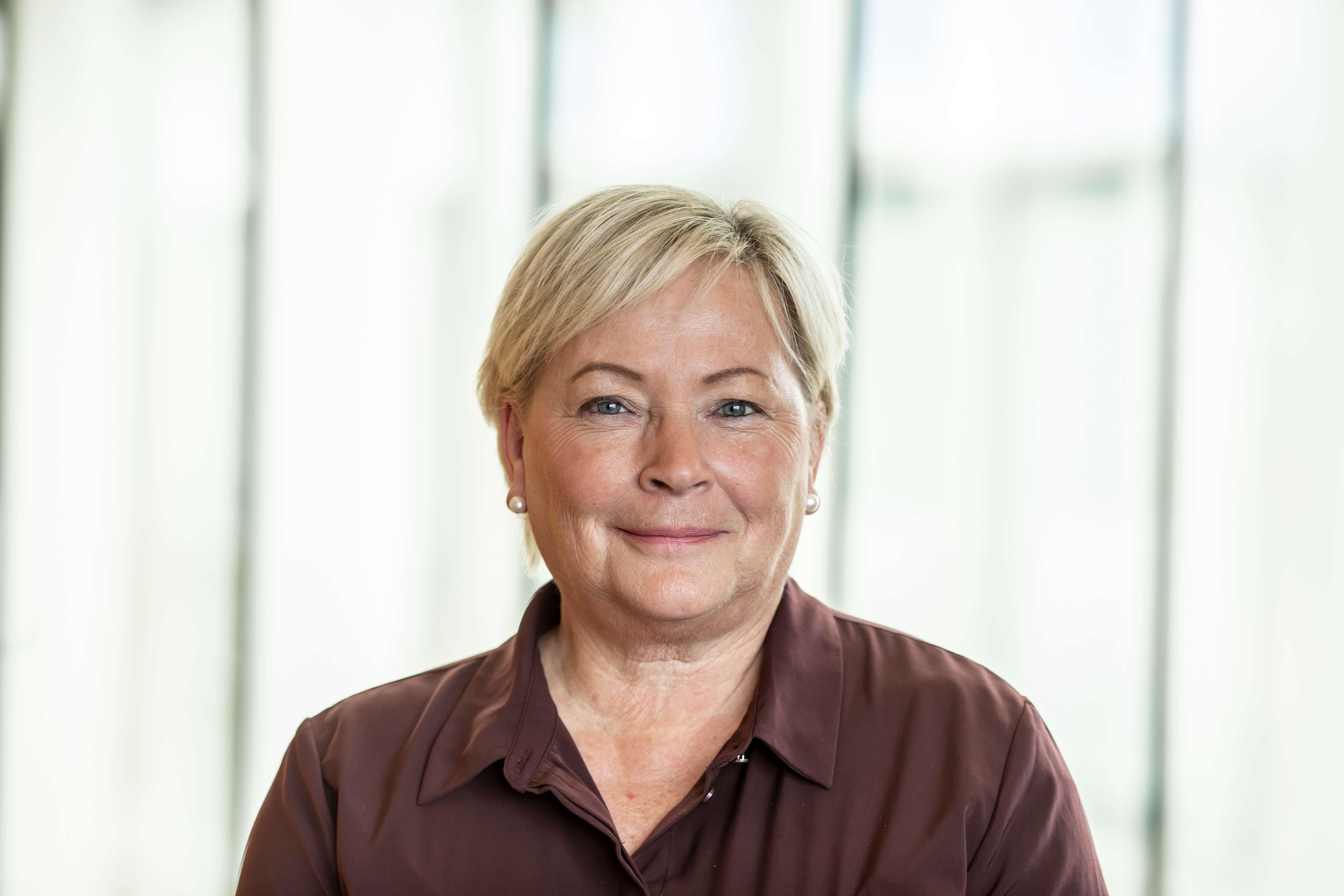 Gunn Høgøy, leder bedriftsmarkedet Frende Forsikring