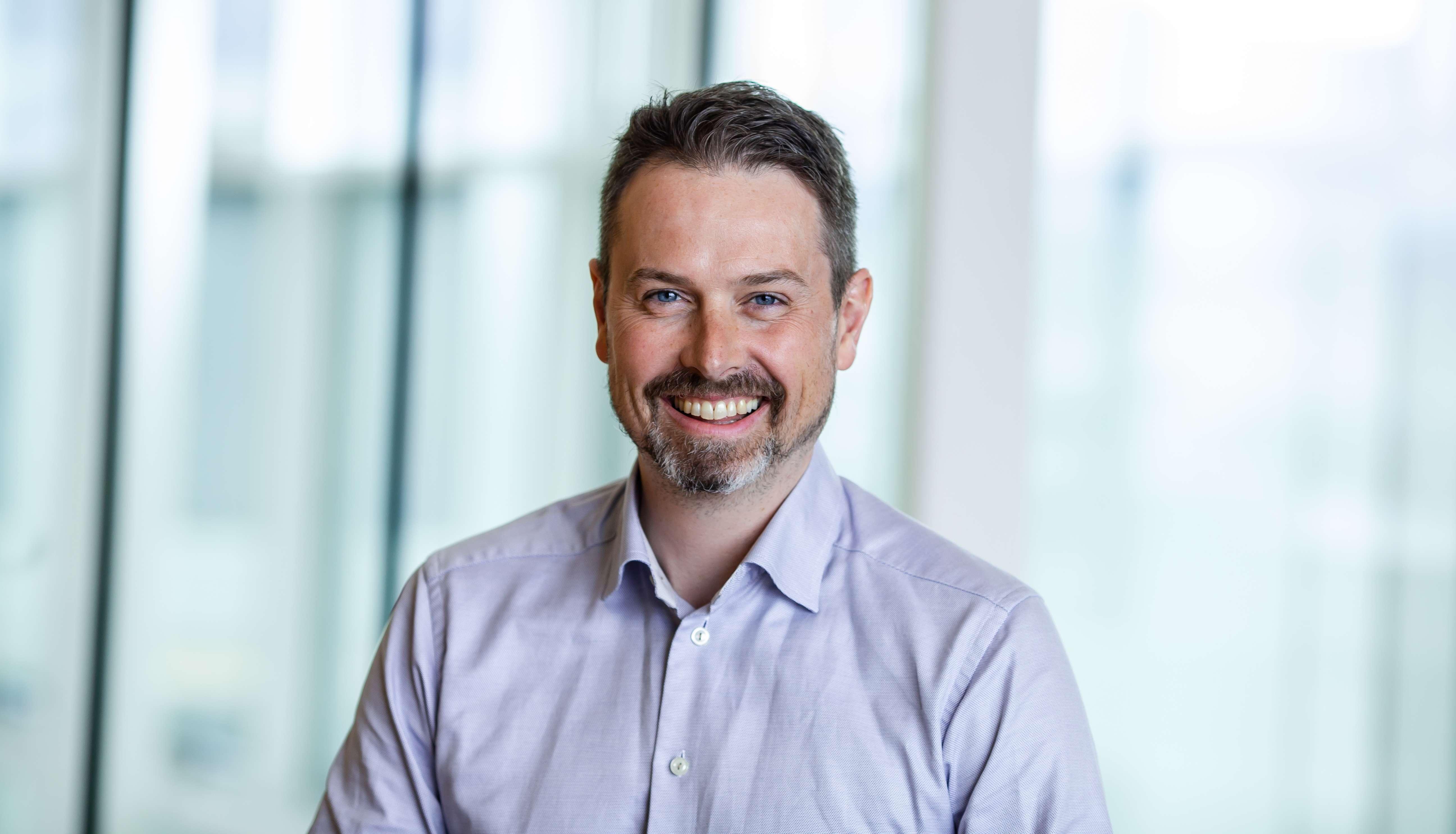 Rune Danielsen, pensjonsekspert i Frende Forsikring