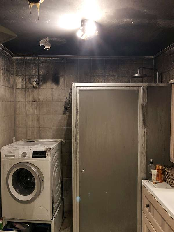 Slik så badet ut etter brannen