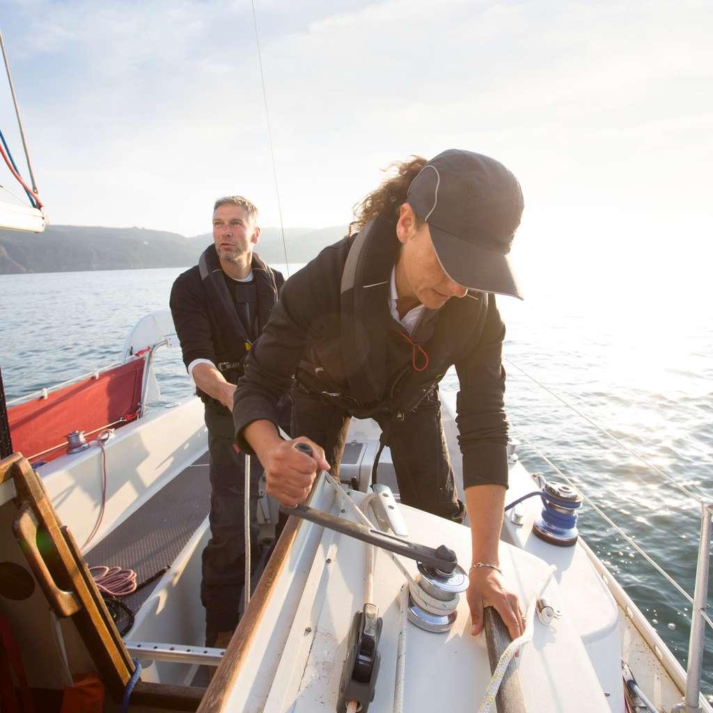 Båt som er forsikret i Frende testes på sjøen