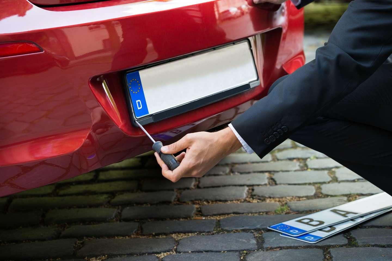 Uregistrert kjøretøy forsikret i Frende
