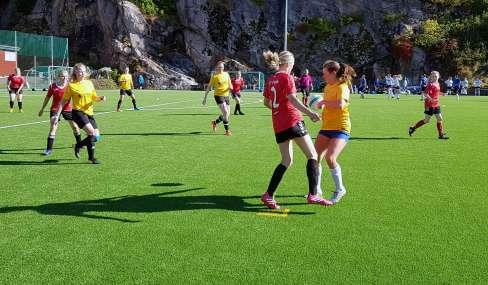 Finans-NM damelaget i aksjon