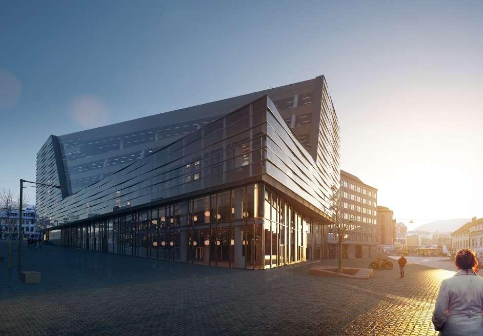 Frende Forsikring har sitt hovedkontor i Jonsvollsgaten 2 i Bergen sentrum.