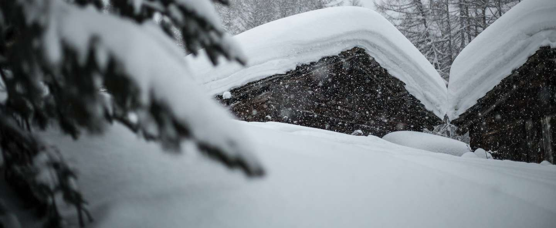 Nedsnødd hytte