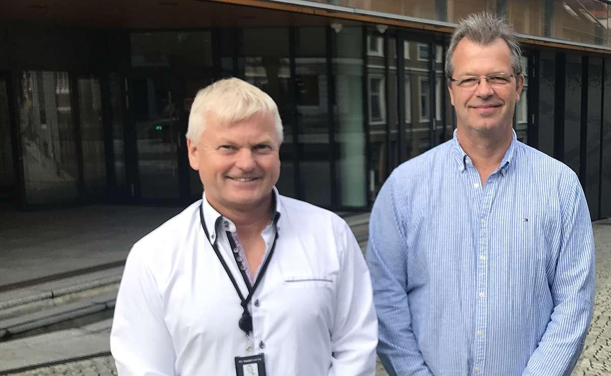 Odd Magne Skjerping og Anders Sandmæl