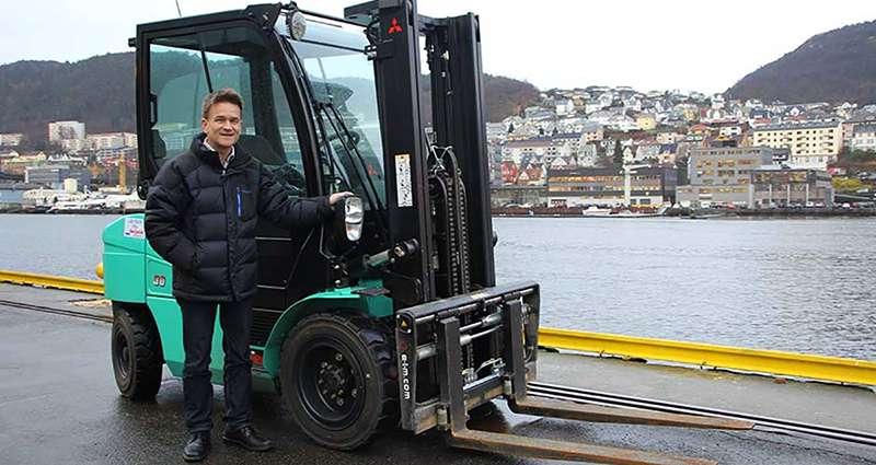 Atle Jenssen fra Seljelid Truckutleie