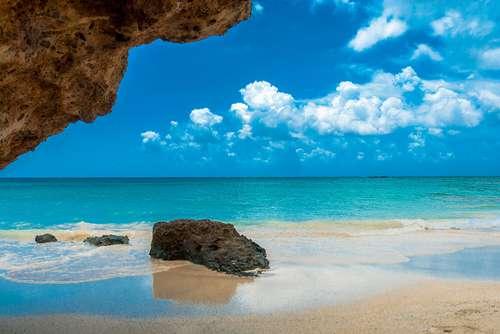 Strand på Kreta, Hellas