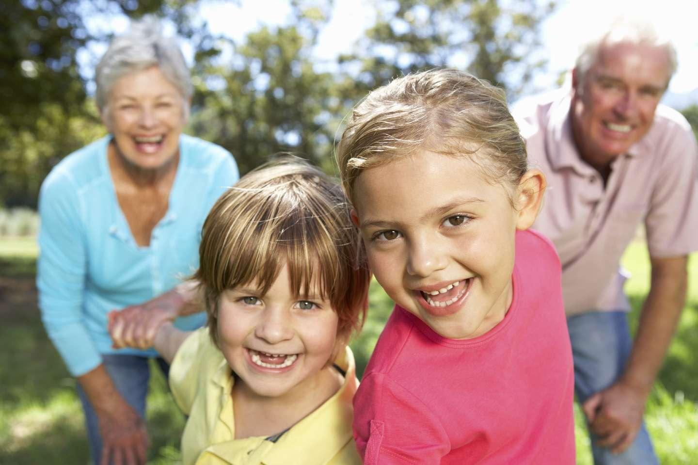 Barn og besteforeldre