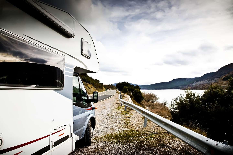 Campingbil forsikret i Frende ute på veien