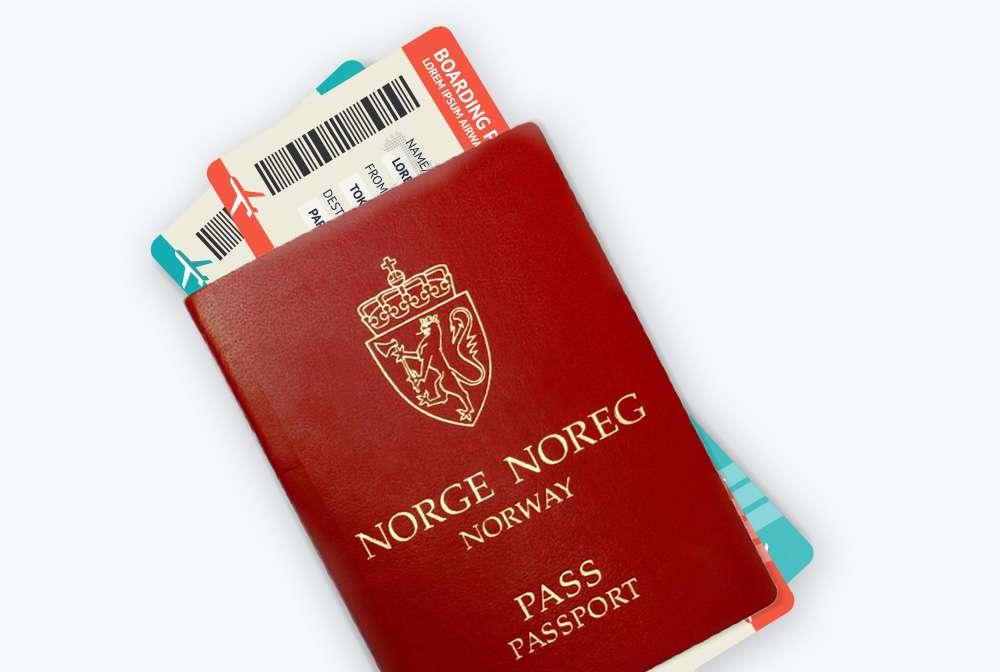 Pass og reisebevis - Frende reiseforsikring